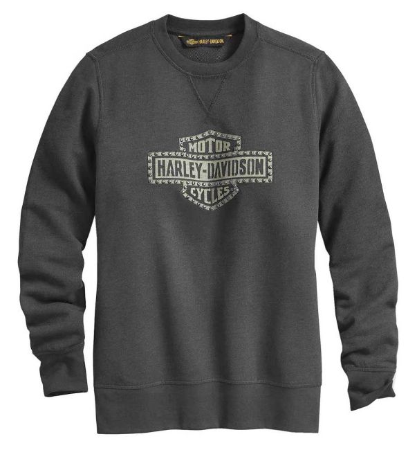 Picture of Women's Studded Logo Pullover Sweatshirt