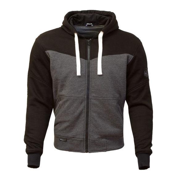 Picture of Men's Hurley Hoody - Black & Grey