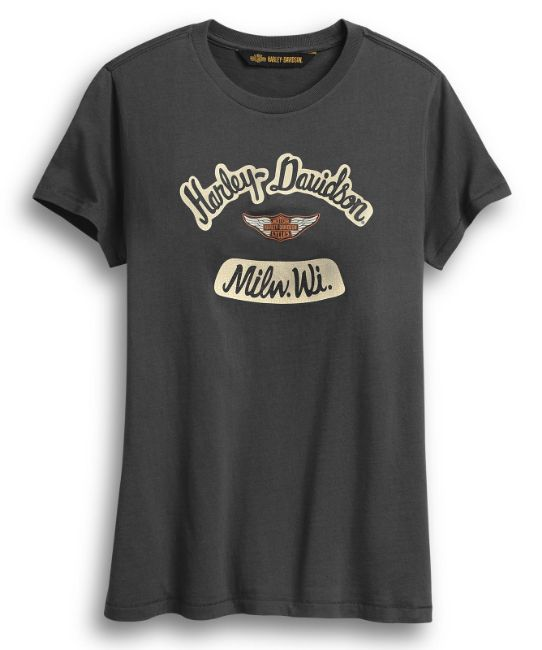Picture of Women's Distressed Graphic Tee