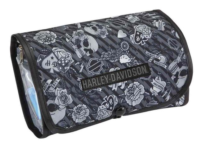 Picture of Grey Tattoo Toiletry Kit