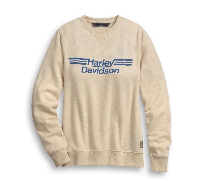 Picture of Women's Logo Stripe Pullover Sweatshirt