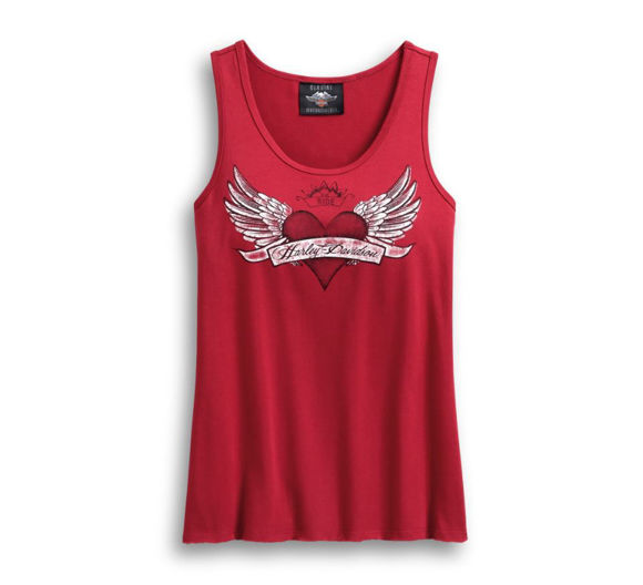 Picture of Women's Winged Heart Tank