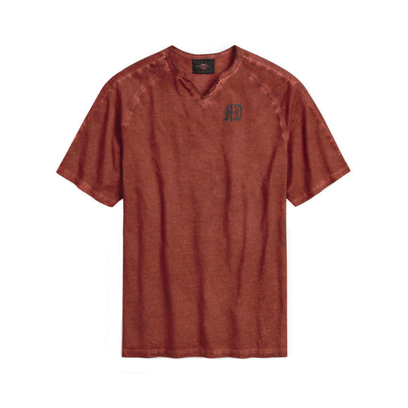 Picture of Men's Eagle Notch Neck Tee