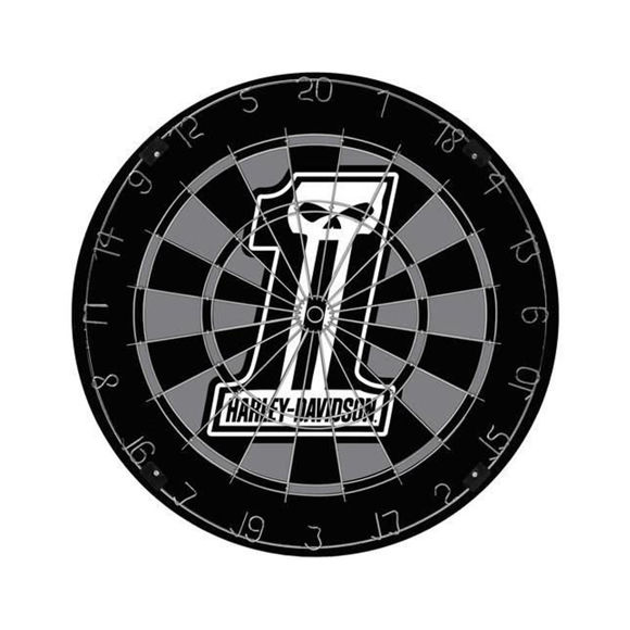Picture of Dark Custom Dartboard