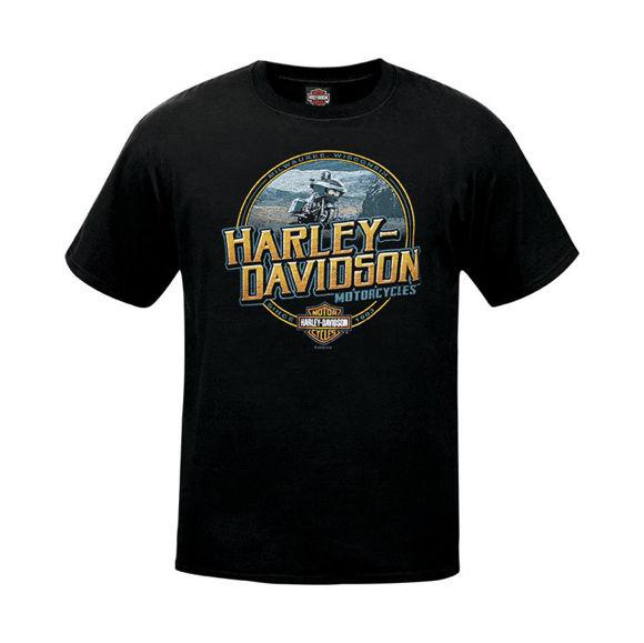 Picture of Men's West Coast H-D Scene Dealer T-Shirt