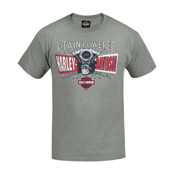 Picture of Men's West Coast V-Twin Split T-Shirt