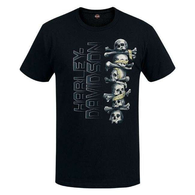 Picture of Men's West Coast Skull Up T-Shirt