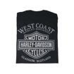 Picture of Men's West Coast Washed Banner Tee