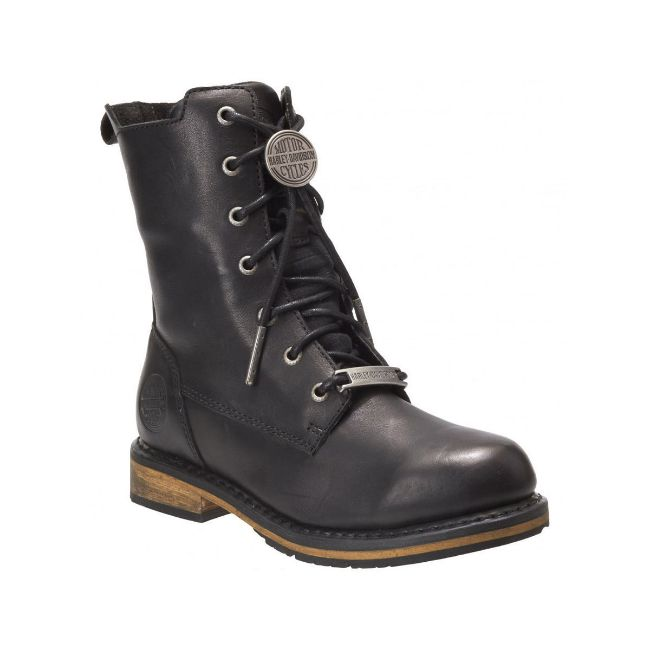 Picture of Women's Heslar Riding Boots - Black