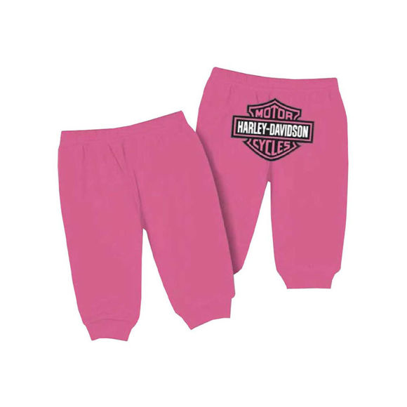 Picture of Baby Girls' Interlock Glitter Bar & Shield Pants