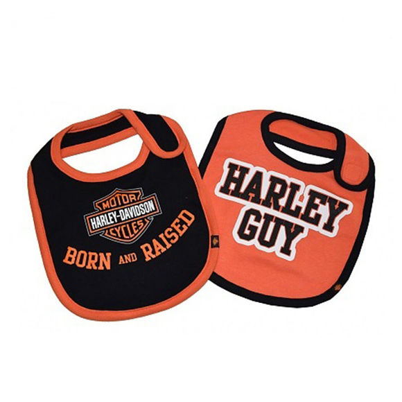 Picture of Baby Boys' Bibs, Bar & Shield Set