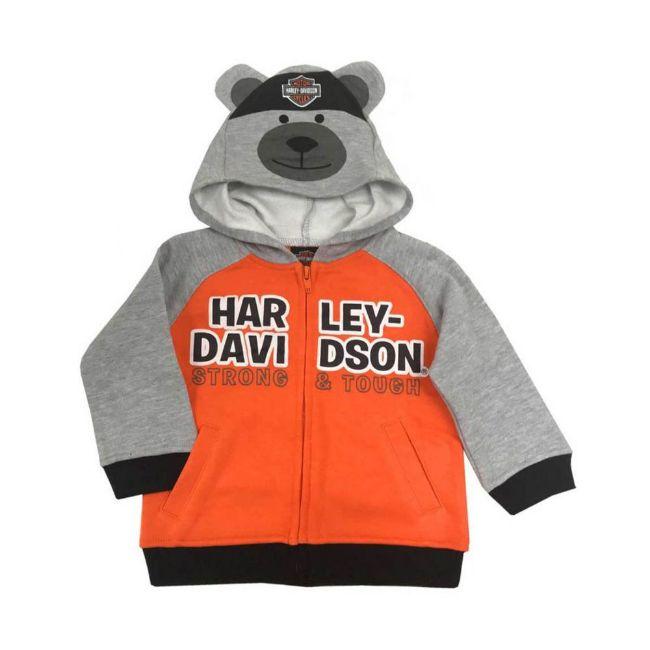 Picture of Baby Boys' Bear Hood Fleece Infant Hoodie