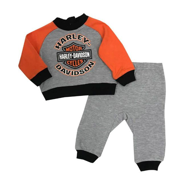 Picture of Baby Boys' 2-Piece Knit Top with 3D Bear Fleece Pants
