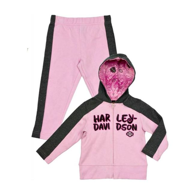 Picture of Little Girls' 2 Piece Interlock Jogging Set