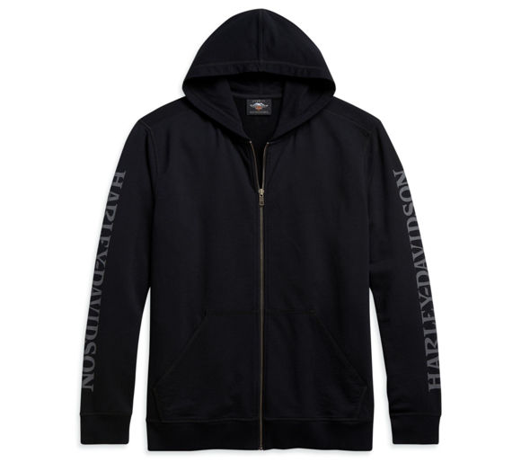 Picture of Men's Skull Full Zip Hoodie