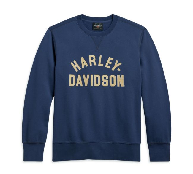 Picture of Men's Stack Logo Pullover - Blue