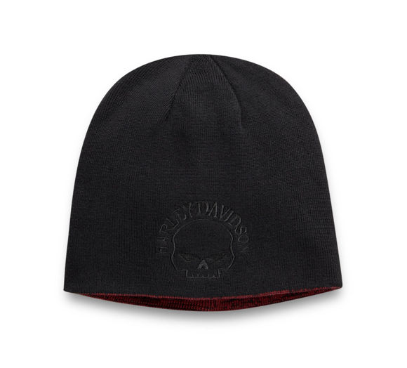 Picture of Skull Reversible Knit Hat