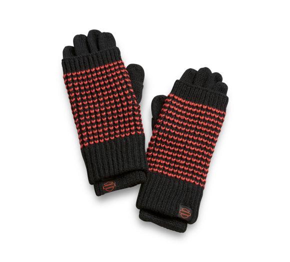 Picture of Women's 3-in-1 Knit Gloves - Orange