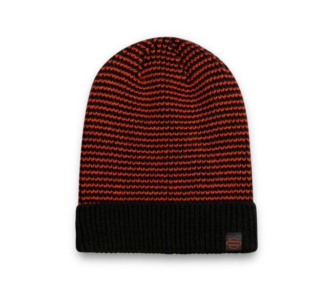 Picture of Patch Knit Hat - Orange