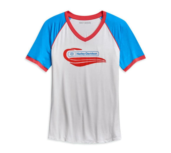 Picture of Women's Shortster Tank Colorblock Tee