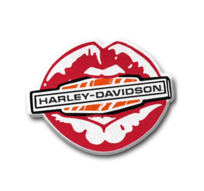 Picture of Kiss Harley Iron-On Patch