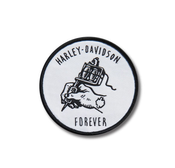 Picture of Harley Forever Iron-On Patch