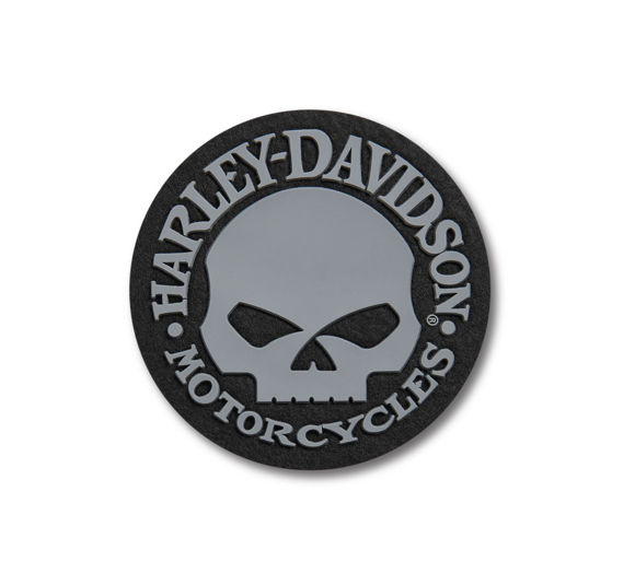 Picture of Skull Logo Iron-On Patch