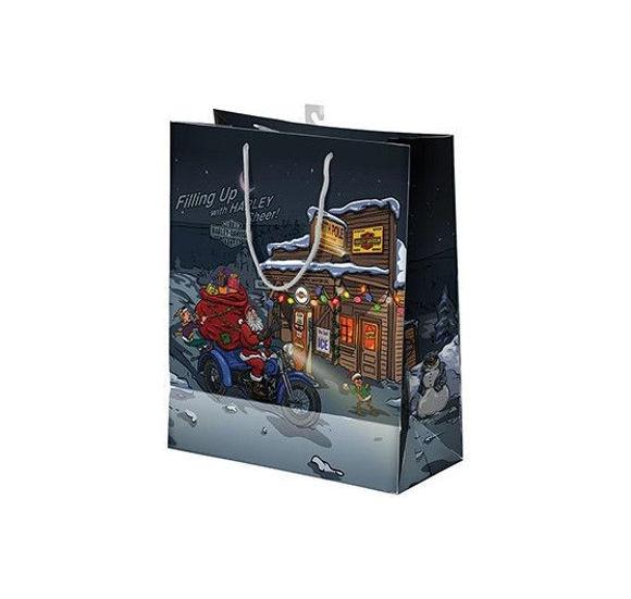 Picture of Biker Santa Gift Bag