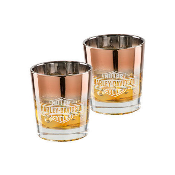 Picture of Copper Ombre B&S Double Old Fashioned Set