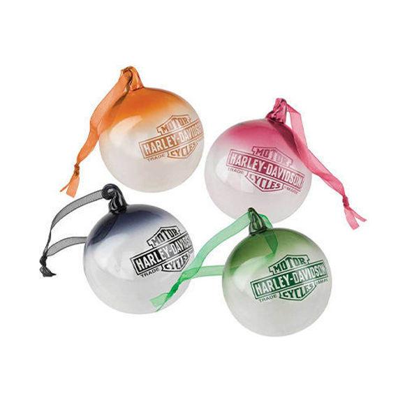 Picture of Multi-Coloured Ball Ornament Set