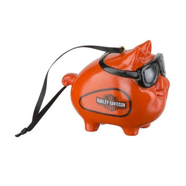Picture of Winter 2019 Hog with Goggles Ornament