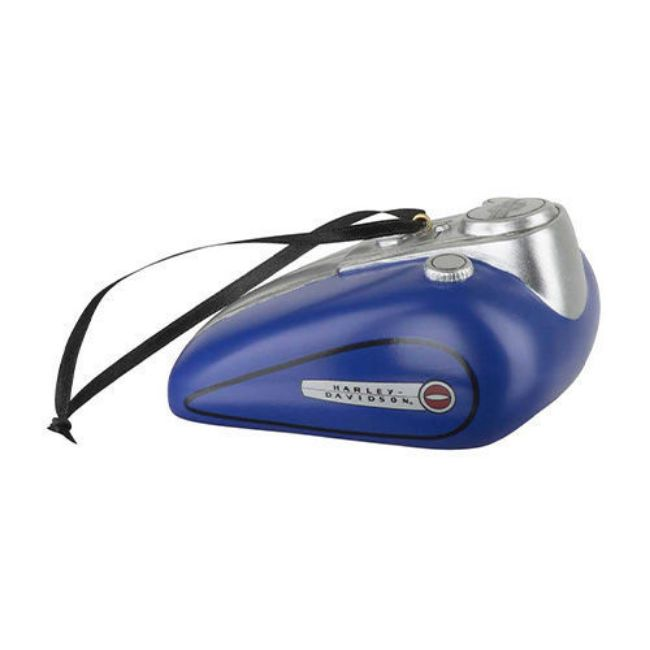 Picture of Blue Gas Tank Polyresin Ornament