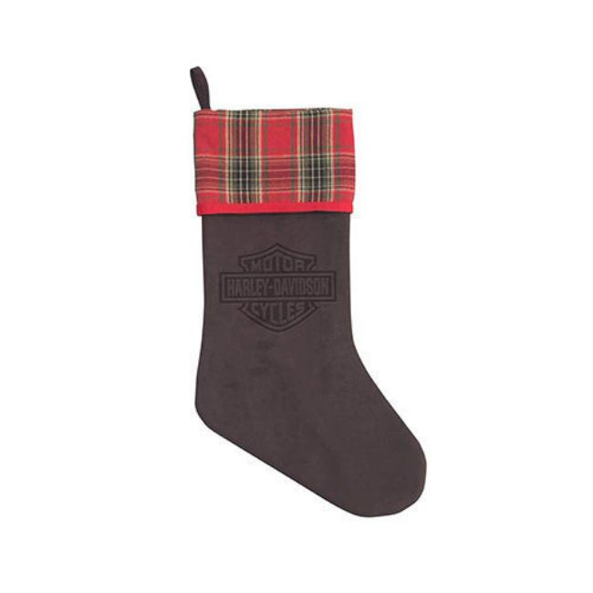 Picture of Winter Holiday Stocking - Vintage Brown