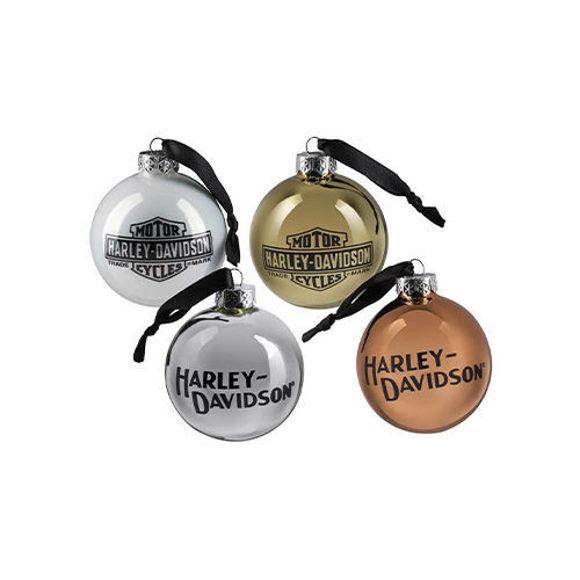 Picture of Trademark Logo Ball Ornament Set - Multi-Coloured