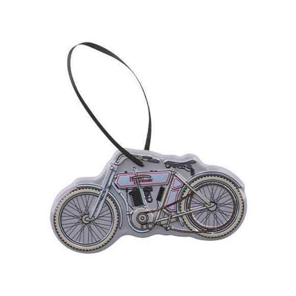 Picture of 3D Embossed Vintage Motorcycle Tin Ornament