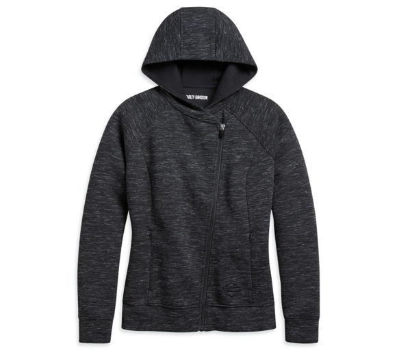Picture of Women's Asymmetrical Zip Hoodie