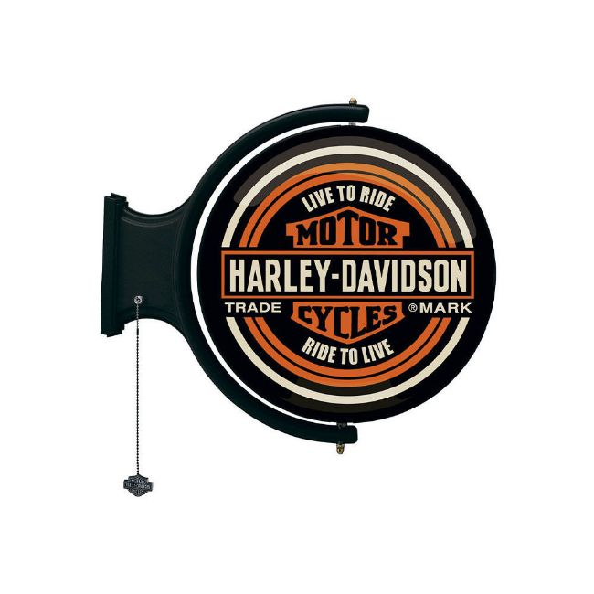 Picture of H-D Rotating Pub Light