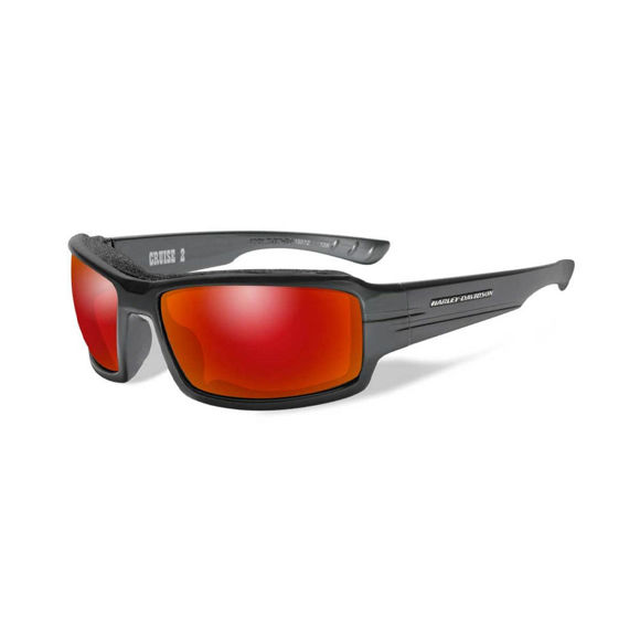 Picture of Wiley X Cruise 2 Gasket Sunglasses - Red Mirror