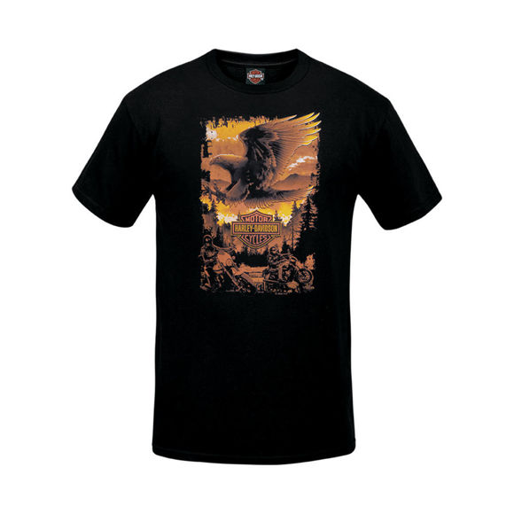 Picture of Men's West Coast Eagle Shadow T-Shirt
