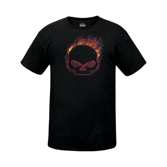 Picture of Men's West Coast Flaming G T-Shirt
