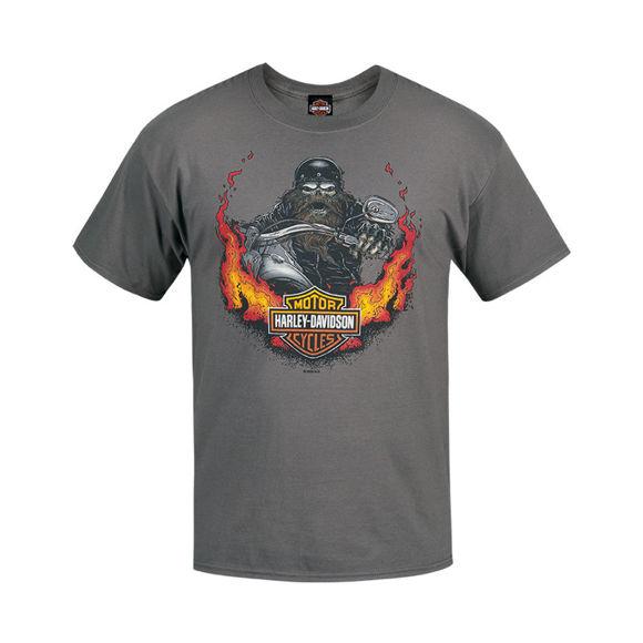 Picture of Men's West Coast Biker Flames T-Shirt