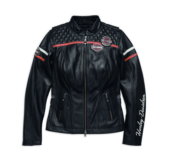 Picture of Women's Miss Enthusiast Leather Jacket