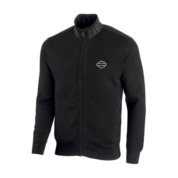 Picture of Men's Wind-Resistant Front Zipper Sweater