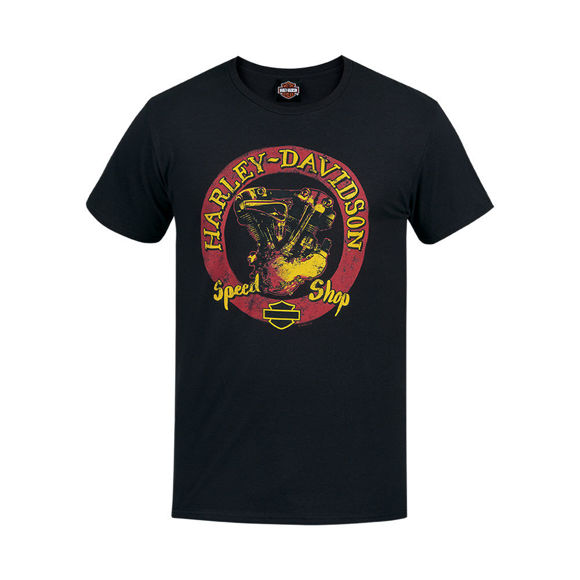 Picture of Men's West Coast Speed Round T-Shirt