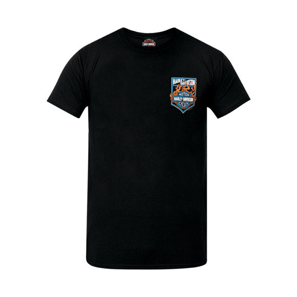 Picture of Men's West Coast Angle Flame T-Shirt