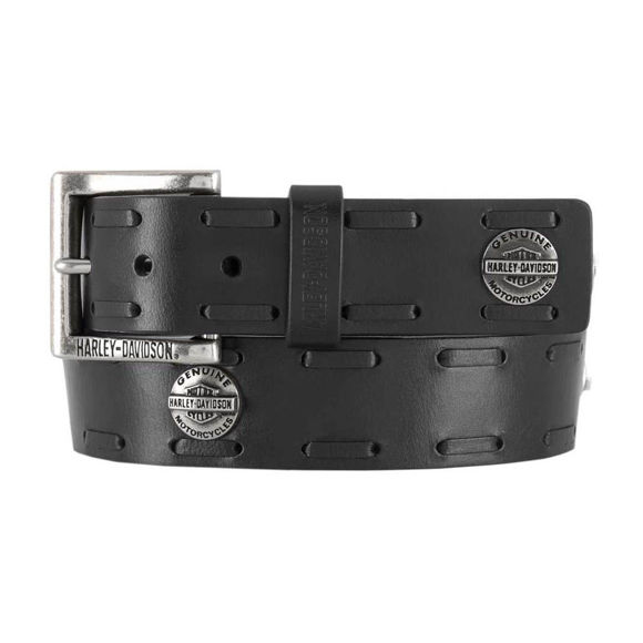 Picture of Men's Maverick B&S Genuine Leather Belt