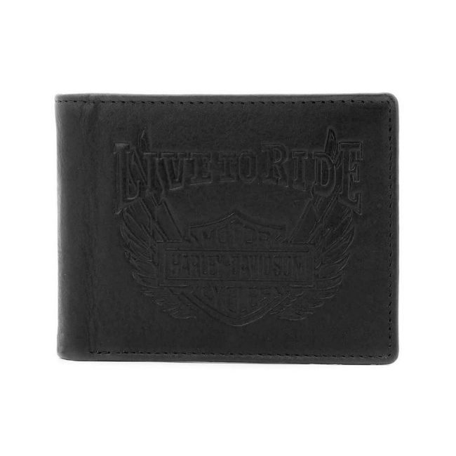 Picture of Men's Ride Away Bi-Fold Leather Wallet