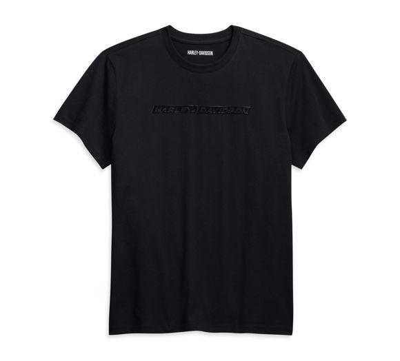 Picture of Men's High Density Chest Stripe Logo Tee