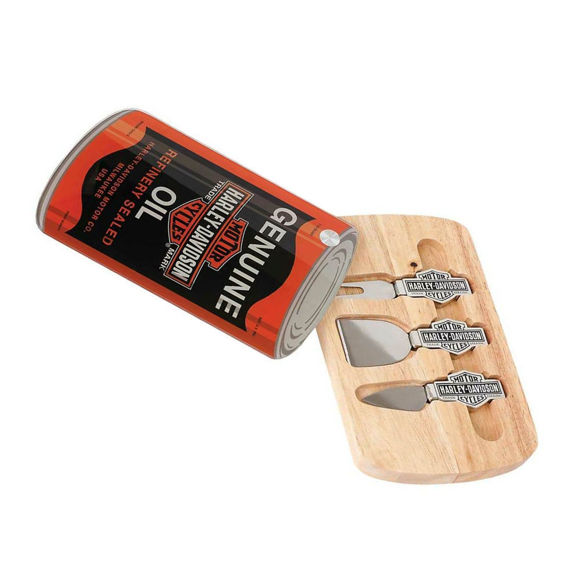 Picture of Cutting Board & Cheese Knife Set