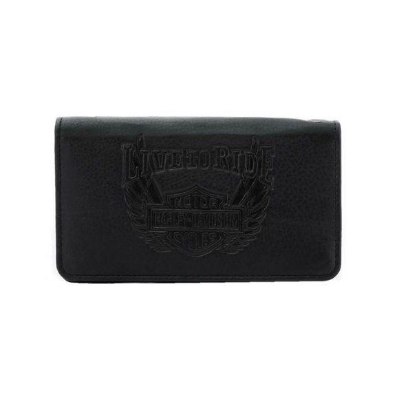 Picture of Men's Ride Away Trucker Leather Wallet